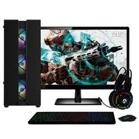 Pc Gamer Completo Amd Ryzen 3  placa De Vídeo Radeon Vega 8  Monitor 21.5 Full Hd 8gb Ddr4 Ssd 480gb 500w Skill Cool